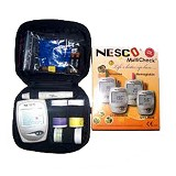 NESCO GCU Multi Check 3 in 1 [NG-AK0033] - Alat Ukur Kadar Gula